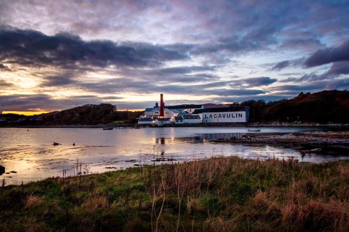 Lagavulin Distillery in Islay island, Scotland