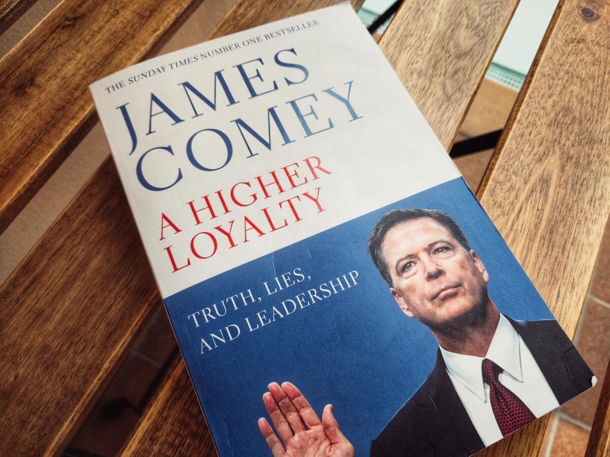 """A Higher Loyalty: Truth, Lies, and Leadership"""" by James Comey"""